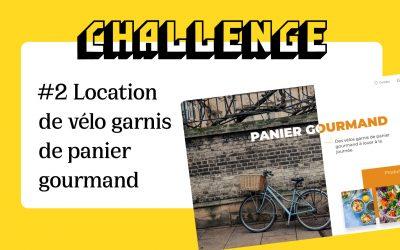 #2 Location de vélo garnis de panier gourmand